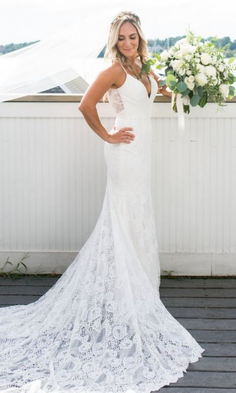 Made with love charlie 1 600 size 4 used wedding dresses for Made with love wedding dresses