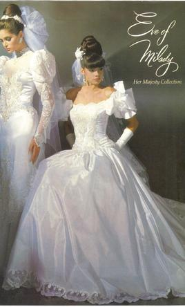 eve of milady her majesty collection 570 size 10 used