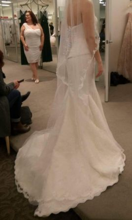 Zac posen truly zp345003 800 size 8 sample wedding for Zac posen wedding dresses sale