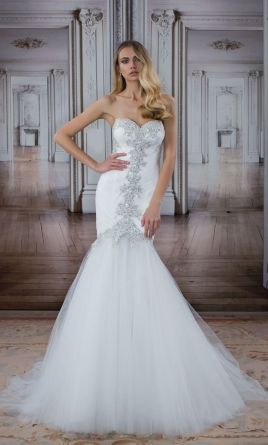 Pnina Tornai 14481, $4,200 Size: 10 | Used Wedding Dresses