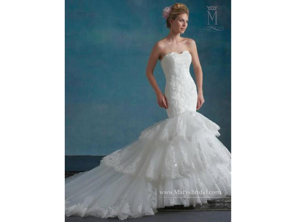 Mary\'s Bridal 6529, $300 Size: 10 | New (Un-Altered) Wedding Dresses