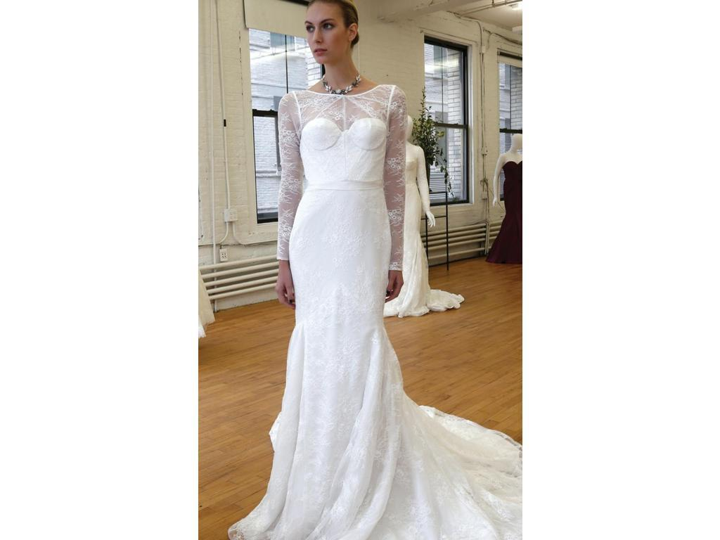 Zac posen truly zp341506 899 size 4 new un altered for Zac posen wedding dresses sale