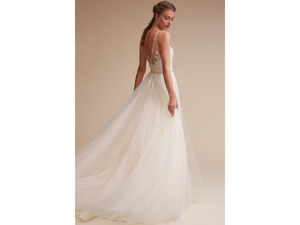 Bhldn cassia 800 size 00 used wedding dresses for Bhldn used wedding dresses