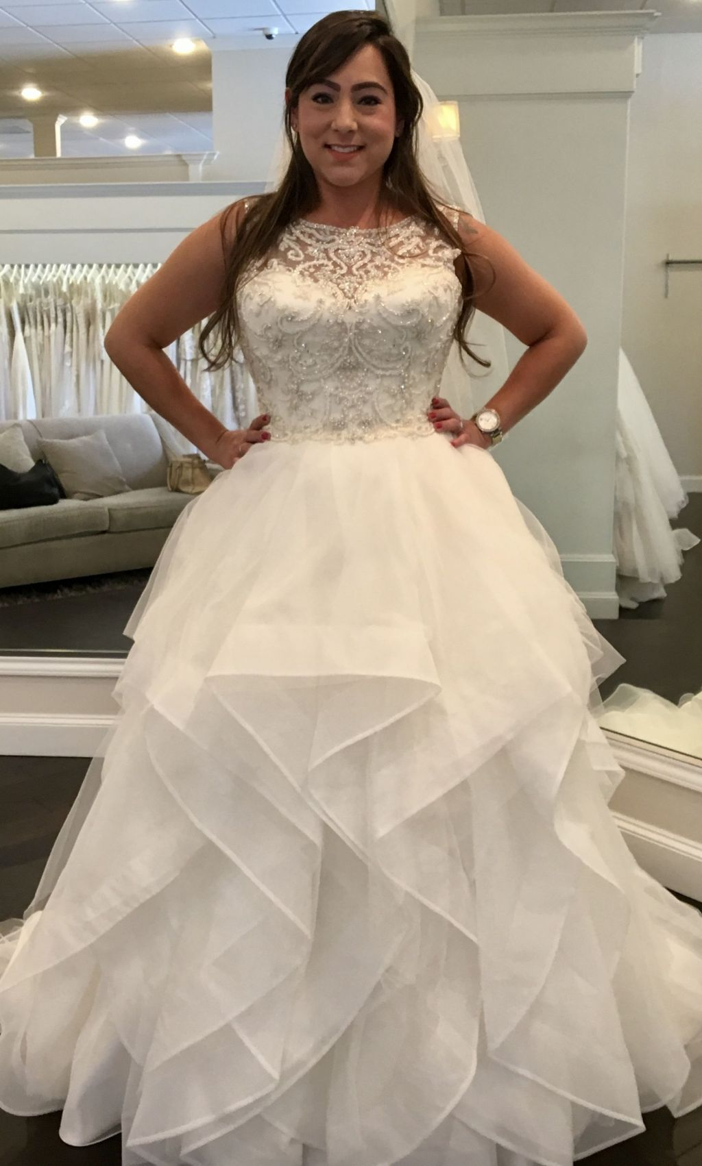 Justin alexander 9847 1000 size 12 used wedding dresses pin it add to justin alexander 9847 12 ombrellifo Images