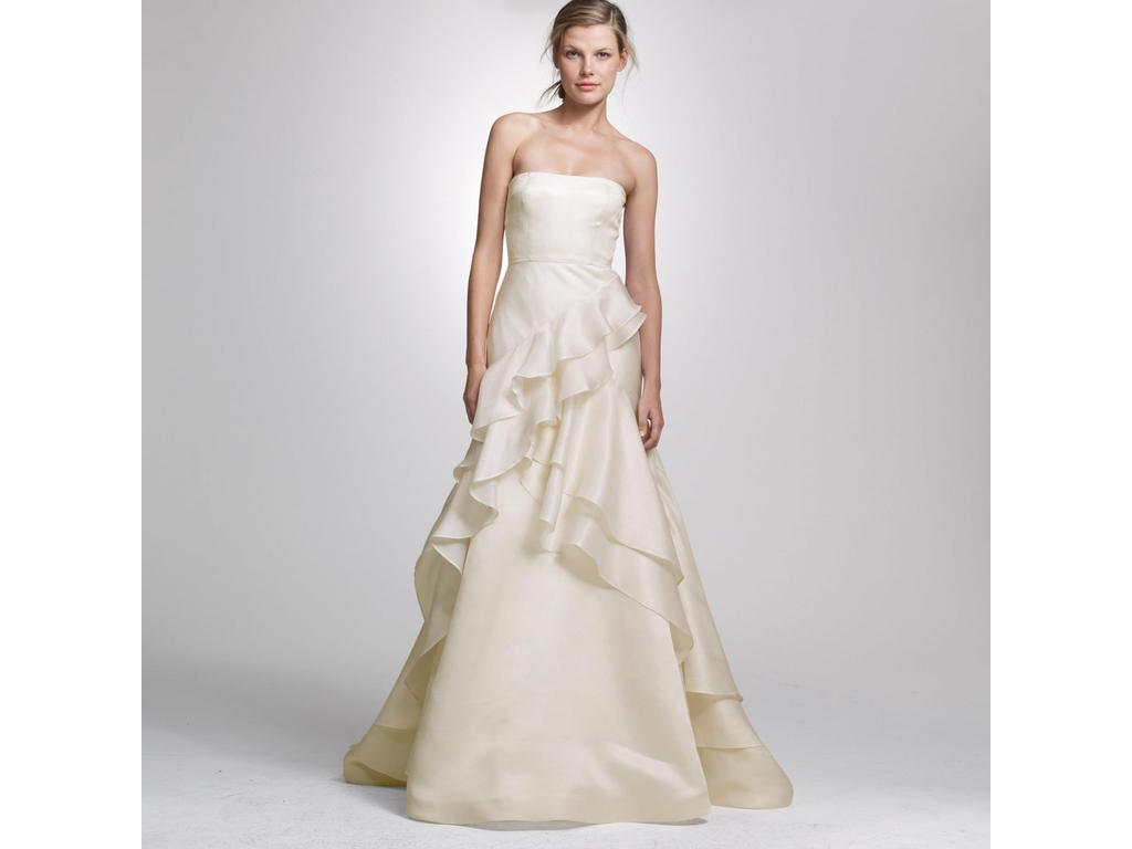 J crew cascade gown 525 size 12 new un altered wedding dresses pin it add to j crew cascade gown 12 ombrellifo Choice Image
