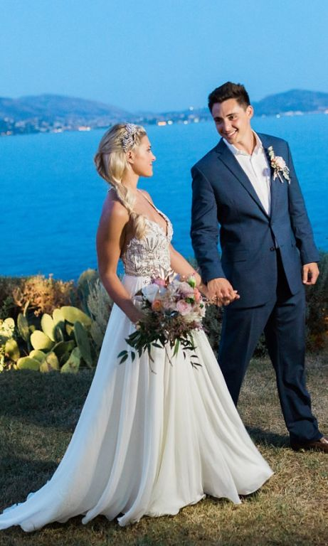 Hayley Paige Teresa Gown (with Crystal Headpiece), $2,250 Size: 2 ...