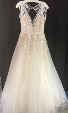 Hayley Paige Leah 6604 2800 Size 10 Used Wedding Dresses