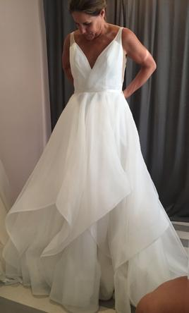 95c1e9e04505 Hayley Paige Decklyn Wedding Dress | New (Un-Altered), Size: 10, $2,000