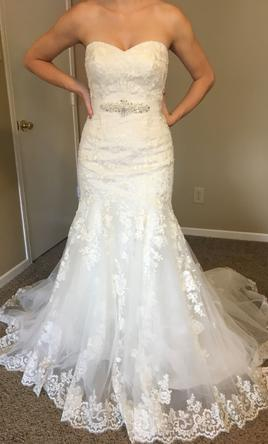 d03383692404 Alfred Angelo 2506 Wedding Dress | New (Un-Altered), Size: 4, $450