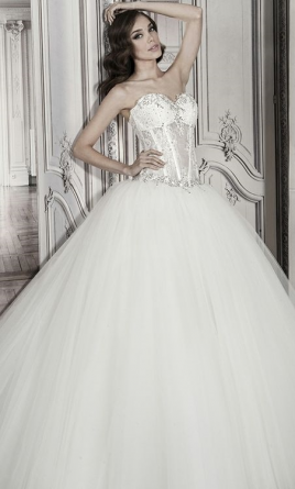 Pnina Tornai Tulle Ball Gown