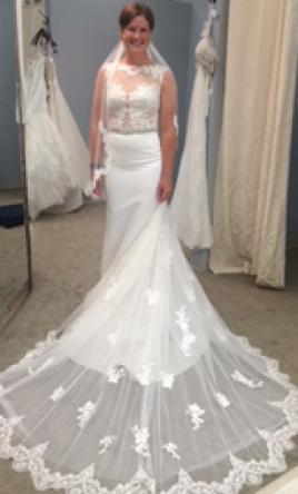 Cristiano lucci 1 350 size 8 used wedding dresses for Used wedding dresses fort wayne indiana