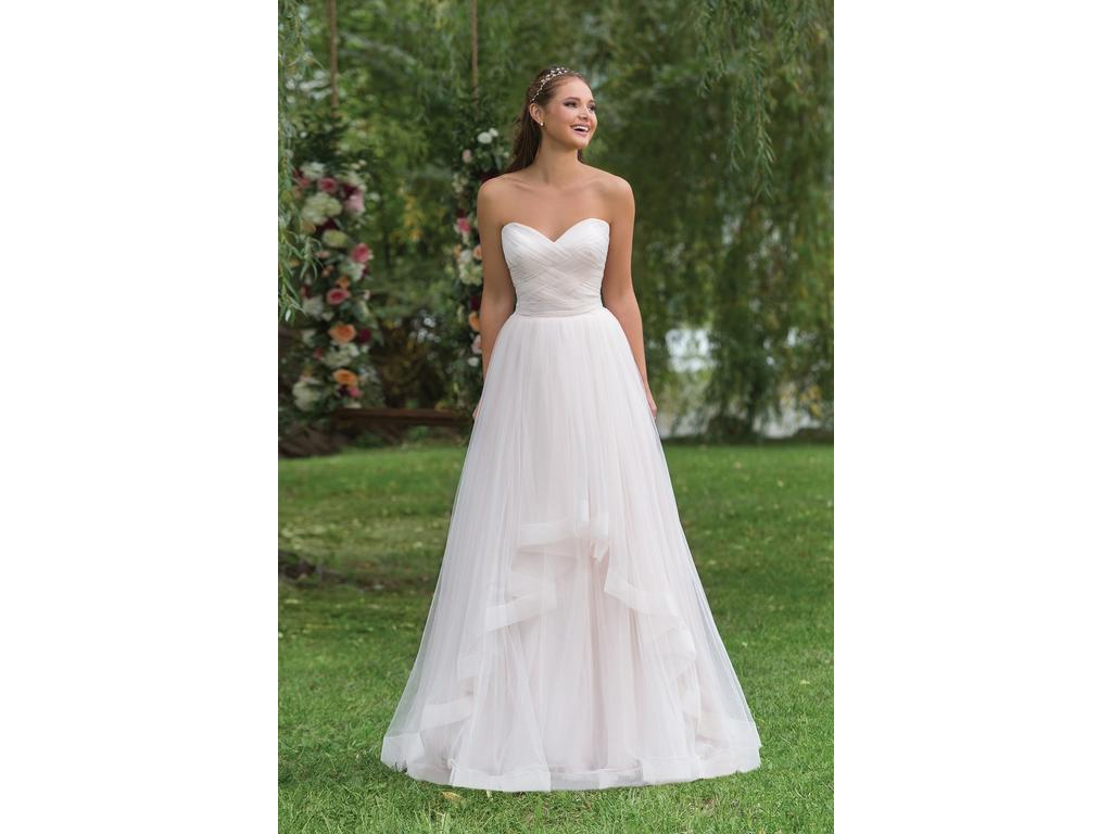 Justin Alexander Sweetheart gown Style #6158, $800 Size: 6 | New (Un ...