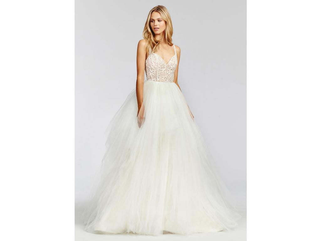 Hayley Paige Scout 1657, $1,500 Size: 6   Used Wedding Dresses
