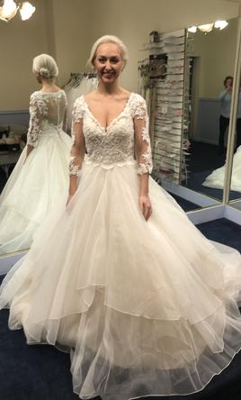Mori lee wedding dresses for sale preowned wedding dresses mori lee maya 5517 8 junglespirit Choice Image