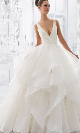 Mori lee milly 5577 800 size 4 new un altered wedding dresses pin it mori lee milly 5577 4 junglespirit Images