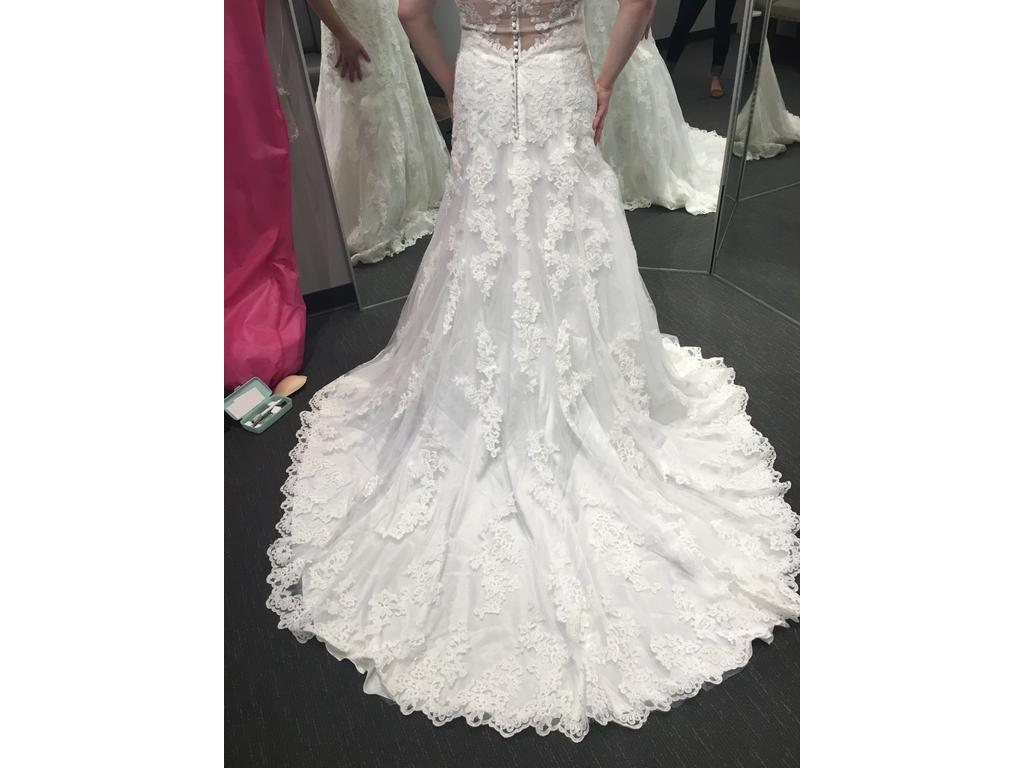 Mori lee 5410 500 size 14 used wedding dresses for Used wedding dresses kansas city