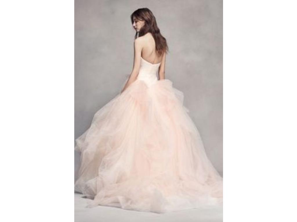 Vera wang white ombre tulle wedding dress vw351322 798 for Vera wang wedding dress used