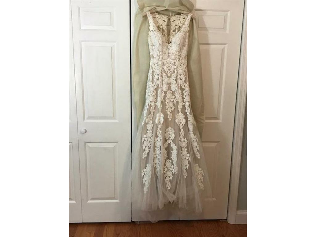 Bhldn 42917369 1 100 Size 2 New Un Altered Wedding