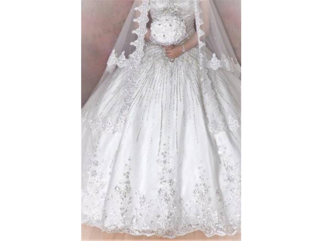 Other custom gorgeous size 8 14 princess wedding dress for Wedding dresses size 14