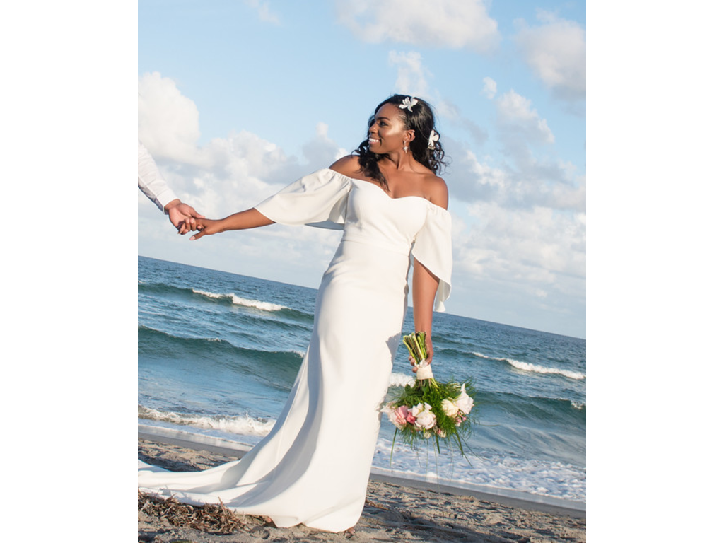 Odylyne the Ceremony Sascha , $500 Size: 12 | Used Wedding Dresses