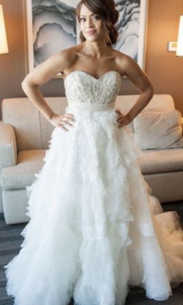 c03a157b7f20 Watters Mayne Corset/Ansel Skirt Wedding Dress | Used, Size: 6, $2,500