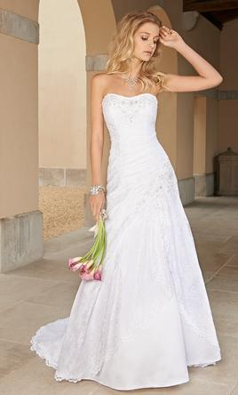 Camille La Vie 4210W, $250 Size: 2 | Used Wedding Dresses