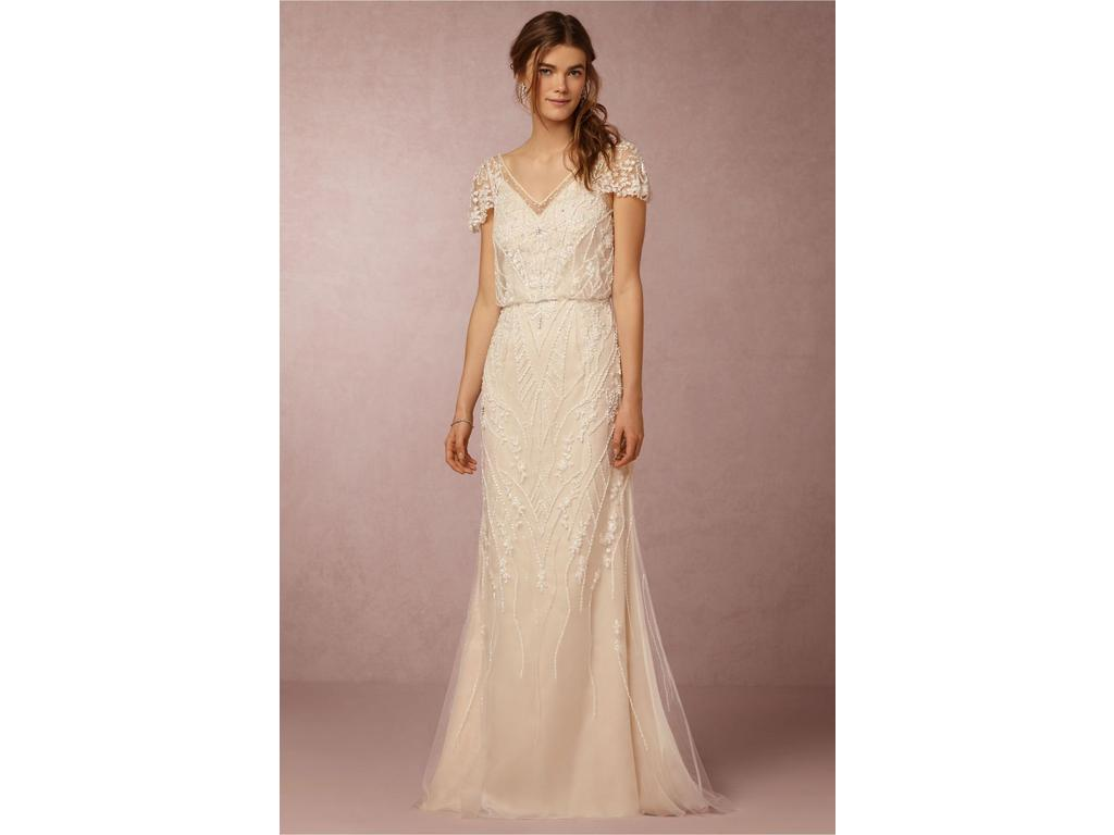 Bhldn etoile aurora gown 37819745 349 size 2 used for Bhldn used wedding dresses