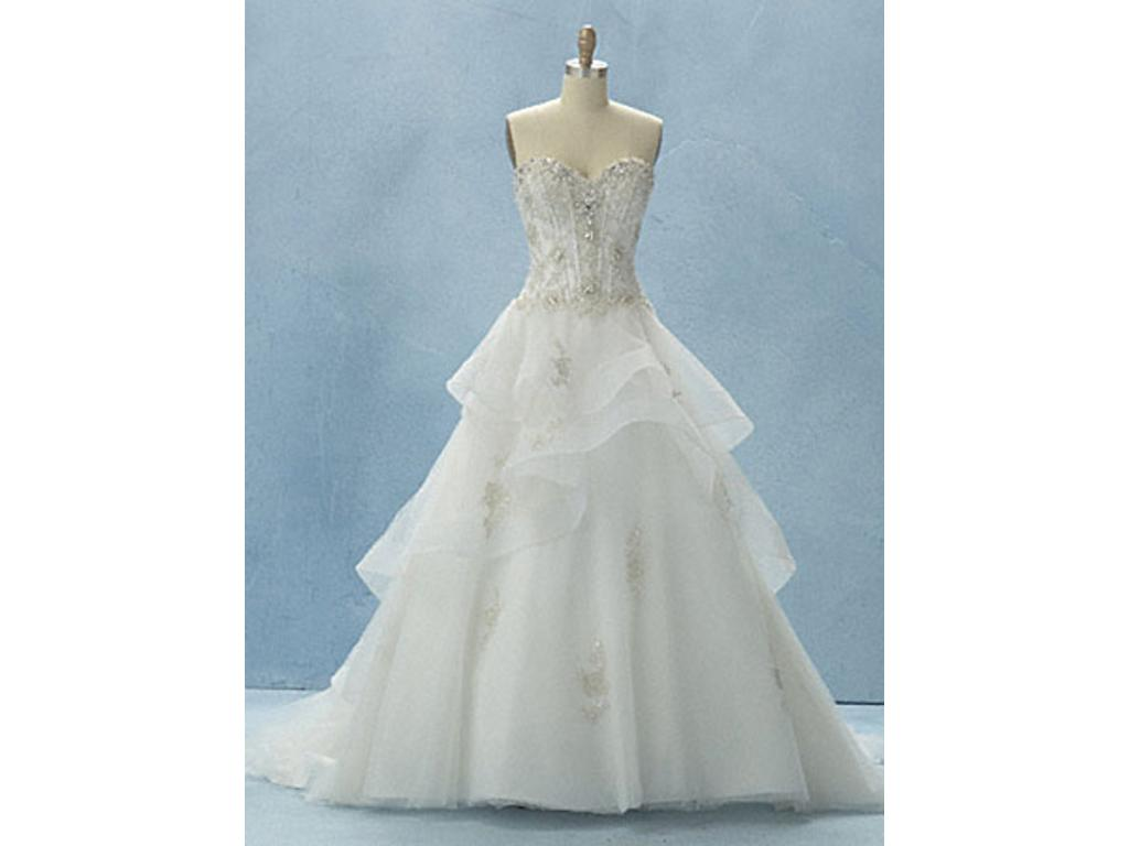 Alfred Angelo Disney 217 Belle, $800 Size: 4   New (Altered) Wedding ...