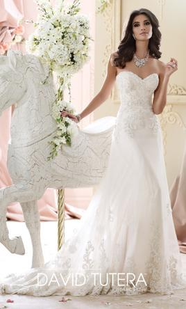 David tutera wedding dresses for sale preowned wedding dresses david tutera 215267isg 12 junglespirit Choice Image