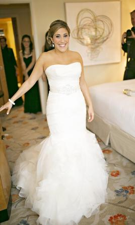 Vera Wang Gemma, $2,500 Size: 10 | Used Wedding Dresses