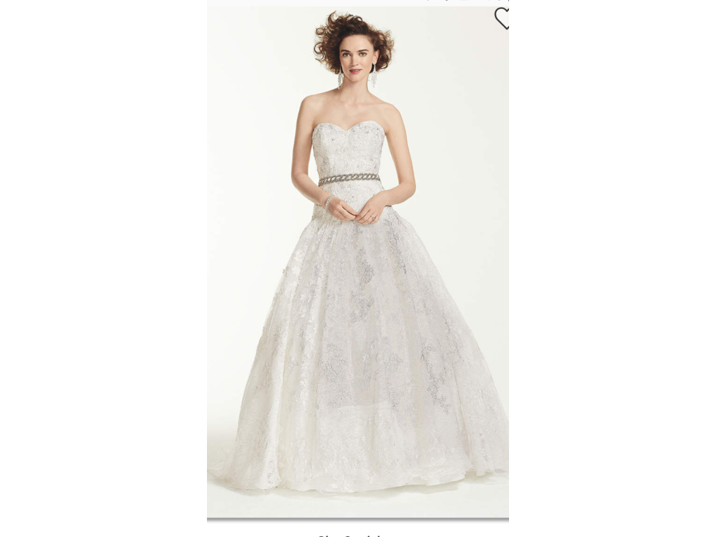Oleg Cassini $900 Size: 6 | New (Un-Altered) Wedding Dresses