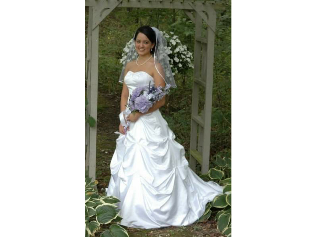 David\'s Bridal Strapless Sweetheart Ball Gown, $275 Size: 2 | Used ...