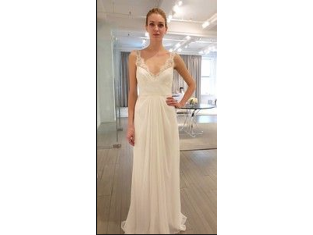 Monique Lhuillier Calypso, $1,550 Size: 10 | New (Altered) Wedding ...