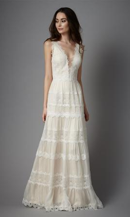 Boho wedding dresses preowned wedding dresses catherine deane junglespirit Images