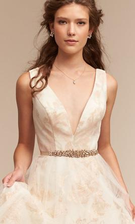 Bhldn Ivy Amp Aster Lily 625 Size 6 New Un Altered