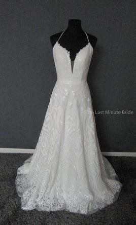 Other the last minute bride samantha rose 979 size 8 for Last minute wedding dress