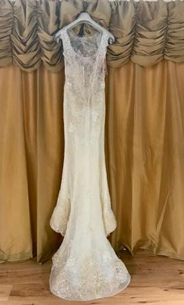 Ines di santo alonda 3 199 size 10 new un altered for Ines di santo wedding dresses prices