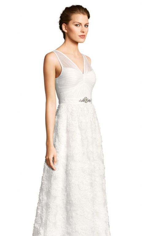 Other Adrianna Pappell embellished petal chiffon ball go, $145 Size ...