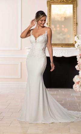 Stella York Designer Vintage Wedding Gown