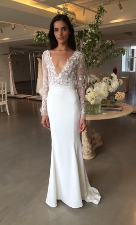 Oscar de la Renta Fit And Flare 2017 1210977 - Modern Wedding Dress Designers