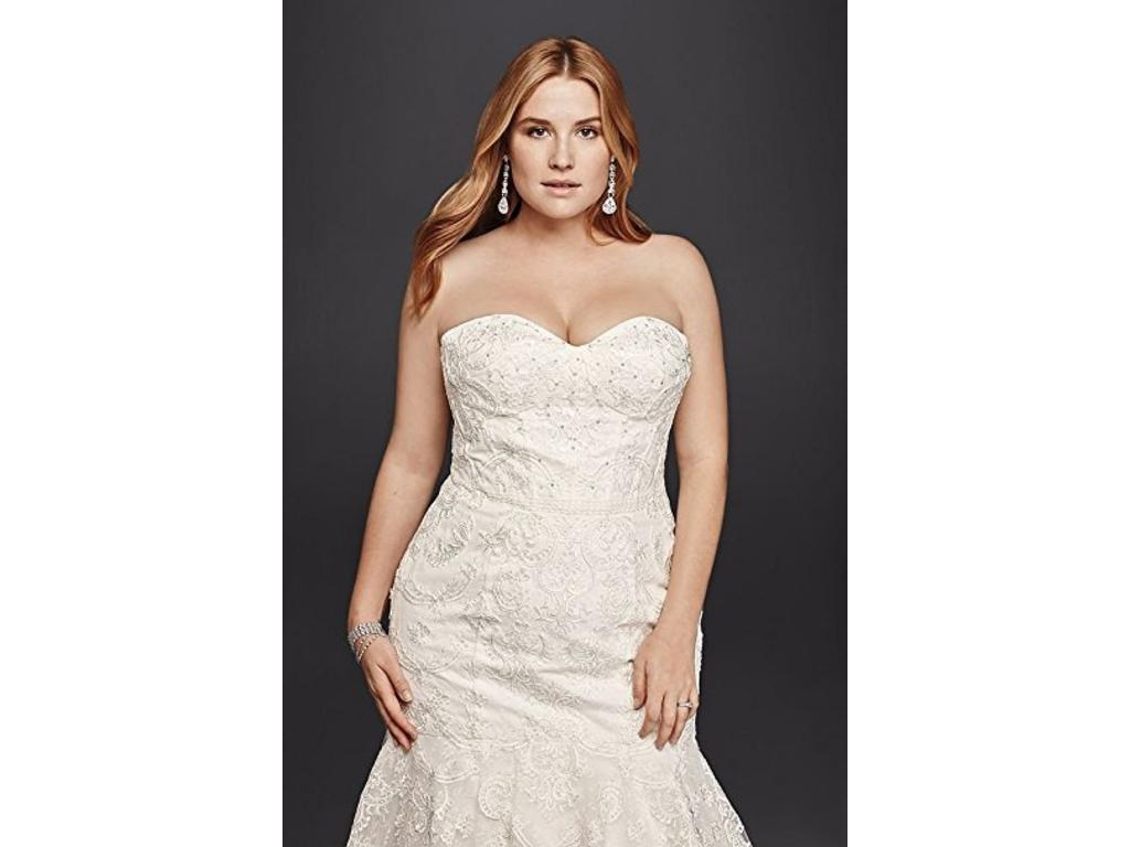 Galina SWG755, $1,100 Size: 16W | New (Un-Altered) Wedding Dresses