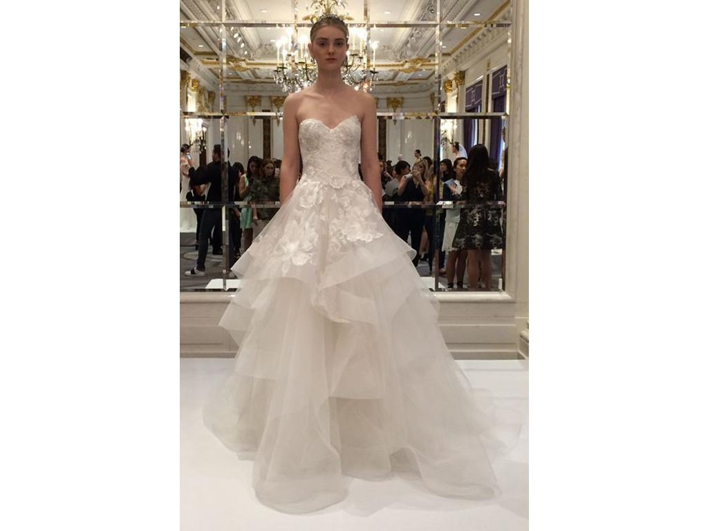 Marchesa 6 500 size 4 used wedding dresses for Marchesa wedding dress sale