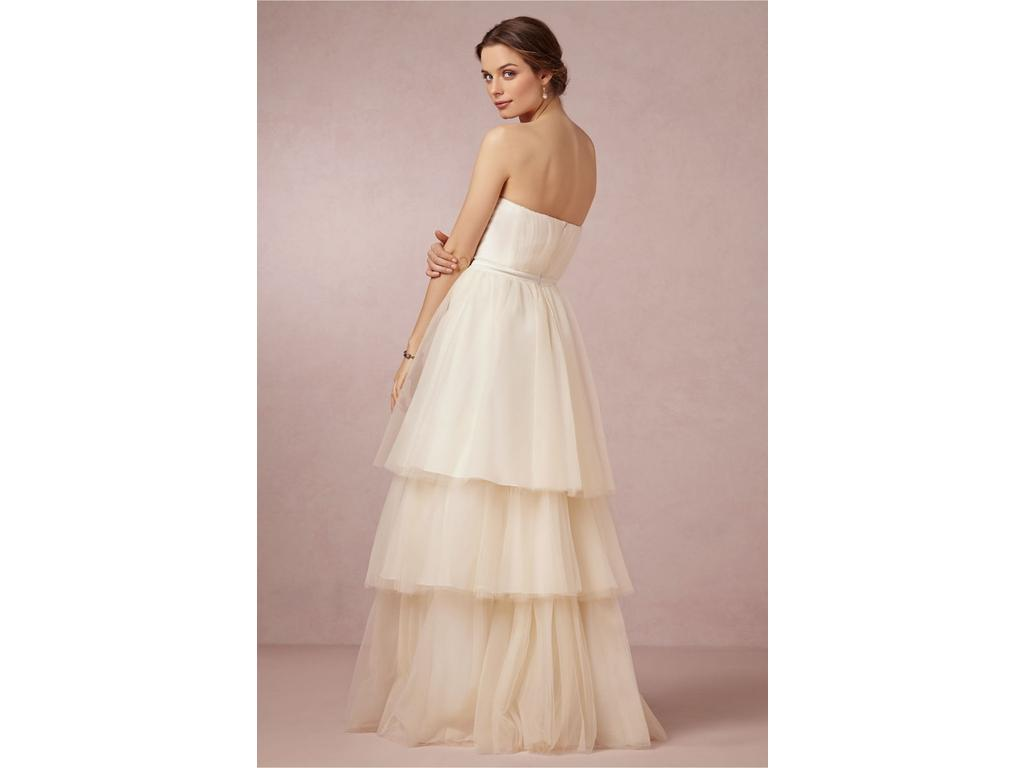 BHLDN Faye Gown by Badgley Mischka, $395 Size: 10   New (Un-Altered ...