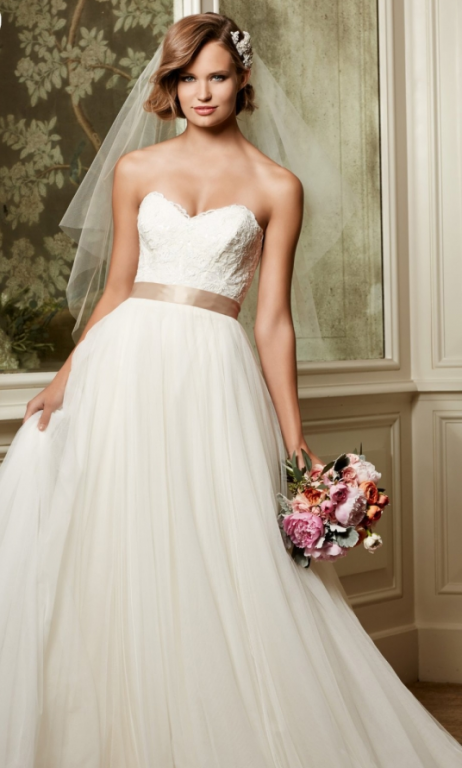 Watters Agatha WTOO 13704, $600 Size: 18 | New (Un-Altered) Wedding ...