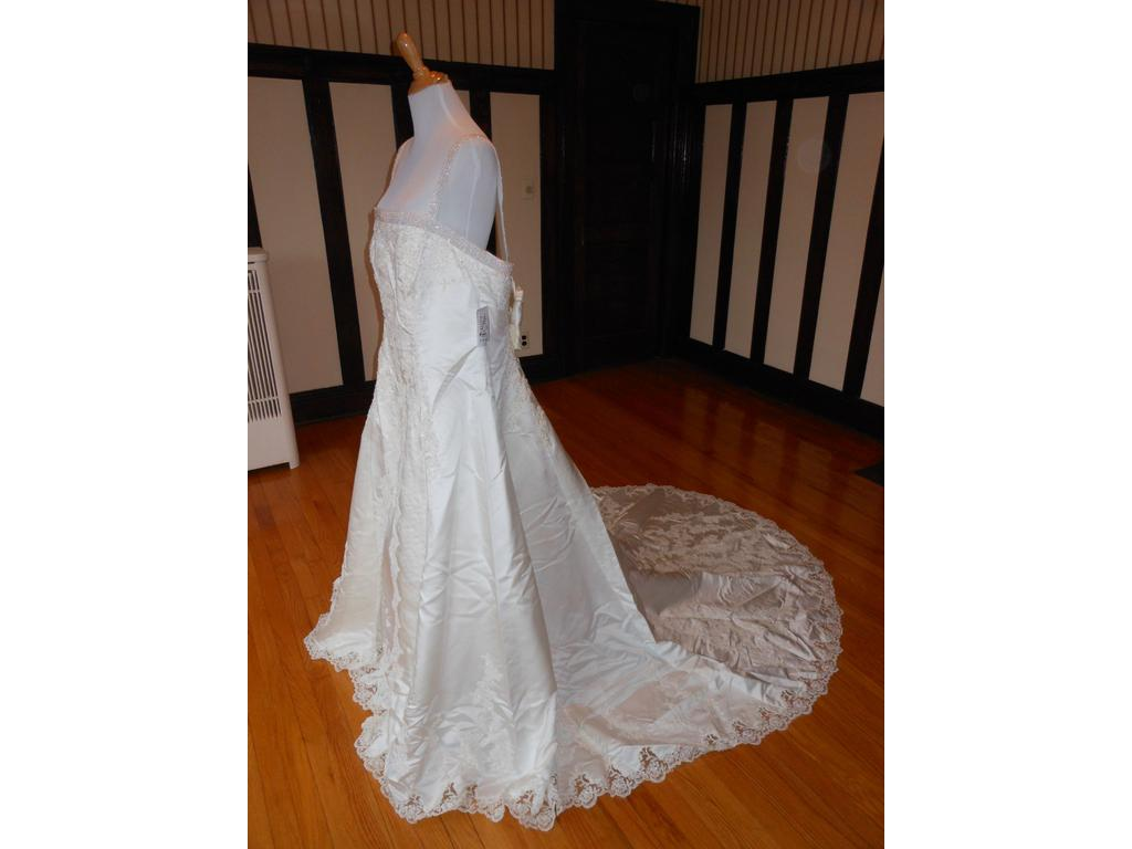 Other christian michele 1155ww 199 size 20 new un for Christian michele wedding dress