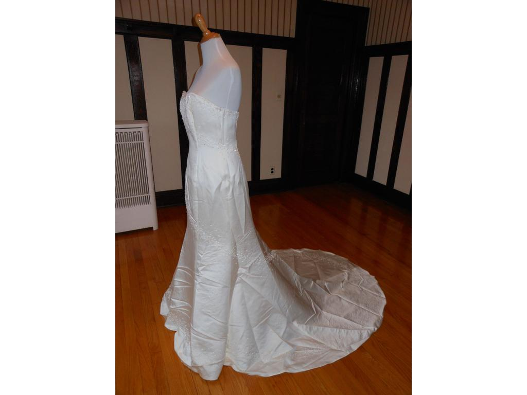 Other christian michele 3109w 99 size 12 new un for Christian michele wedding dress