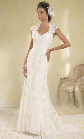 Alfred Angelo Modern Vintage 8516 600 Size 8 New Un Altered Wedding Dresses