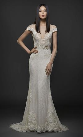 champagne wedding dresses for sale