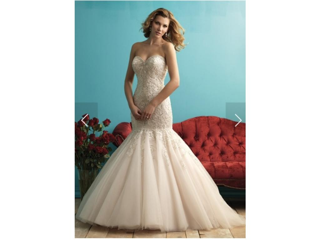 Allure Bridals 9275, $1,800 Size: 14 | New (Un-Altered) Wedding Dresses