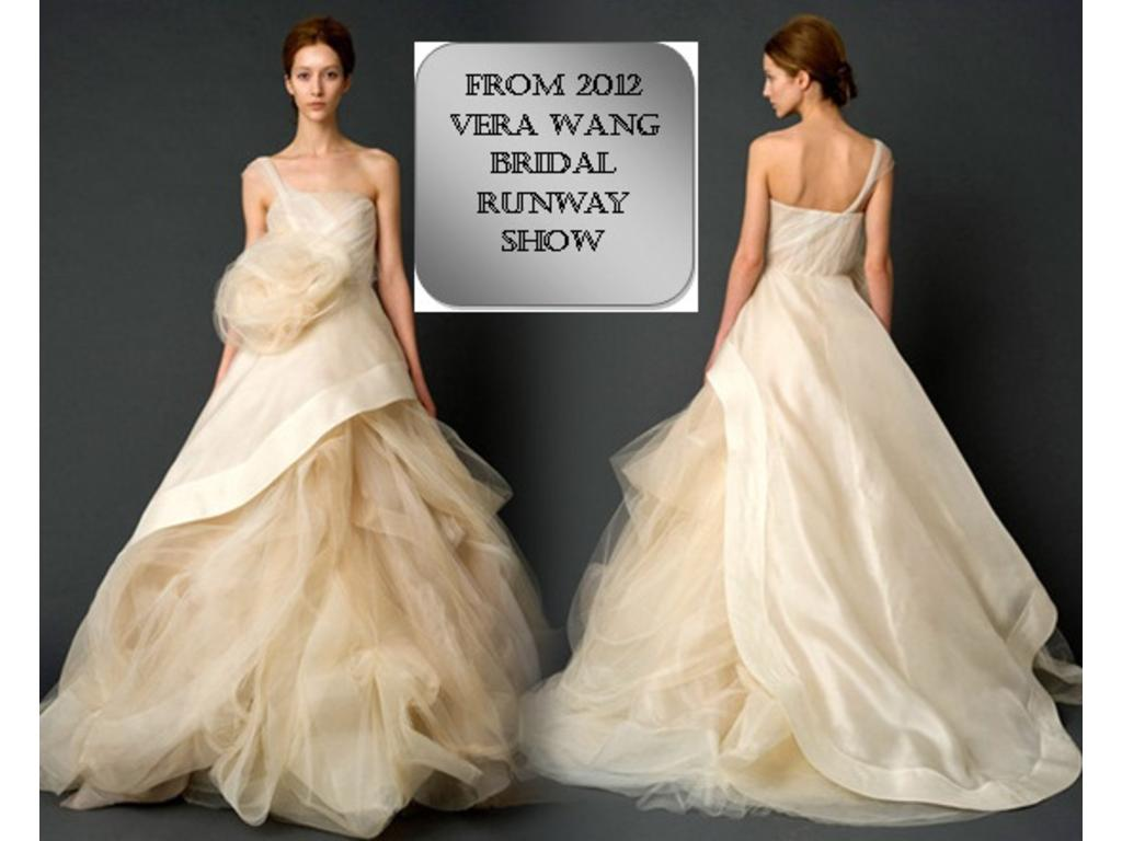 a3d3a7e6c114d Inspired Gowns Vera Wang Spring 2012, $650 Size: 4 | New (Un-Altered ...